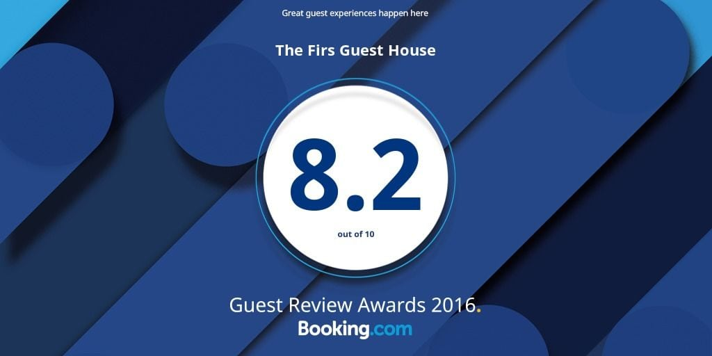 B&B Plymouth The Firs Guest House Plymouth Booking.com award