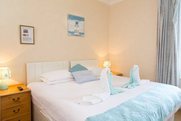 A Double Bedroom at the Firs B&B Plymouth (Room 7)