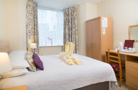 The Firs Bed and Breakfast Plymouth Bedrooms Double Shared Facilities 2nd Floor