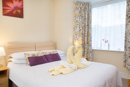 The Firs Bed and Breakfast Plymouth Bedrooms Double Shared Facilities 2nd Floor2