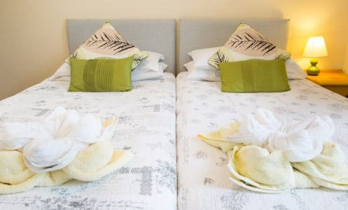 The Firs Bed and Breakfast Plymouth Bedrooms En-suite Twin Room 1st Floor5