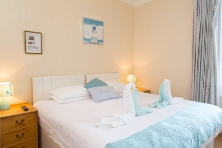 The Firs Bed and Breakfast Plymouth Bedrooms Double En Suite Room 2nd Floor